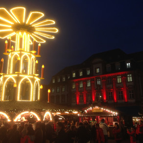 "Weihnachtsmarkt (Mercatini di Natale) - ""Hans im glück"", Heidelberg"