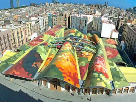 Mercado de Santa Caterina – Miralles e Tagliabue EMBT - Barcellona