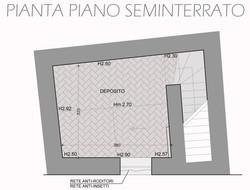 PIANTA SEMINTERRATO