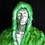 Thumbnail: Light Up Faux Fur Coat - Green Faux Fur LED Coat