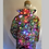 Thumbnail: Light Up Coat - geometric / psychedelic interior Limited Edition LED Jacket
