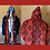 Thumbnail: Black Faux Fur Light Up Coat - Psychedelic Interior - LED Fur Coat