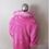 Thumbnail: Light Up Faux Fur Coat Pink Psychedelic LED Coat
