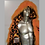 Thumbnail: Tiger fur light up coat - Burning Man LED Coat -  Backpack Option