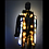 Thumbnail: OOAK Cat & Butterfly Light Up Coat  Wild Cat Faux Fur LED Coat