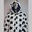 Thumbnail: Star Festival Fur coat-Light Up Faux Fur Coat  - Center of The Universe