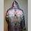 Thumbnail: Burning Man LED Fur Jacket - Artist Interior Dice_51 Arctic Fox Faux Fur