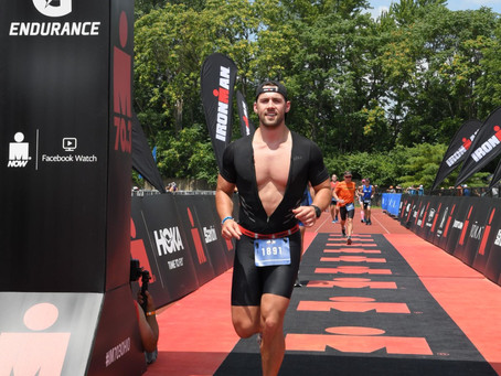 I Did A Half Ironman With Zero Training And  Here's What Happened - Ironman Ohio 70.3 Race Report