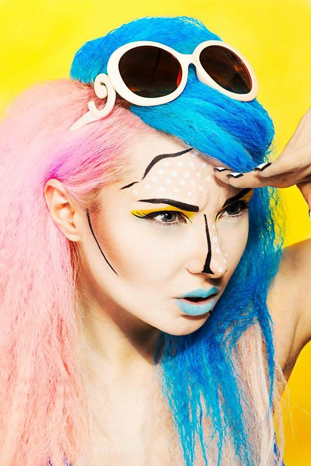 sesja zdjęciowa dla E-makijaż