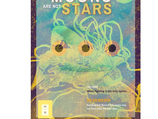 International Teen Creatives featured in upcoming digital Magazine: Moons are Not Stars