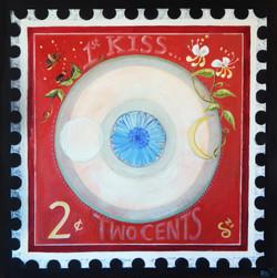 Love Stamp Series: First Kisss