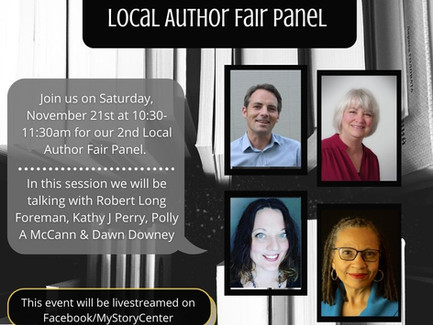 Saturday, Nov 21st Author Panel, New News, New Contests!