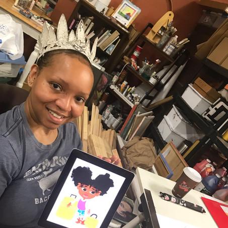Tea with Author Illustrator Danielle D. Williams