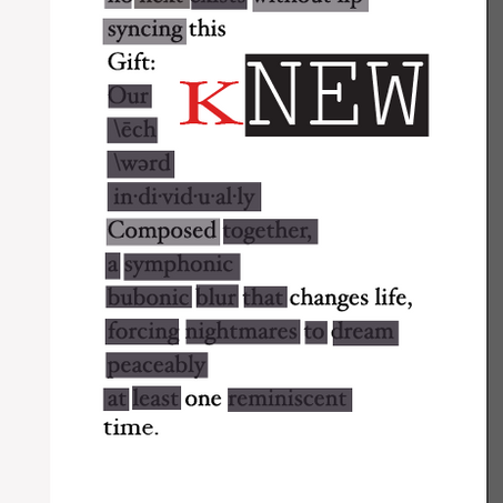 "Author, Spoken Word Artist, TL Sanders creates something ""kNew"""