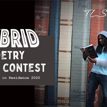 New Hybrid Poetry Winners, & Former Poet in Residence on ArtSpeak Radio today
