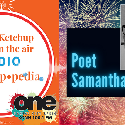 July 4th Live Radio Show call with Seattle Poet, Samantha Malay & You can call in too!
