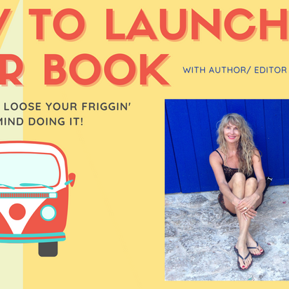 Author JoAnneh Nagler presents Ketchupedia's first Workshop on How to Launch Your Book Aug 3rd