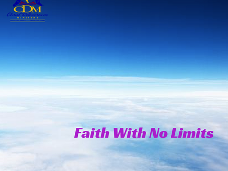 Faith With No Limits