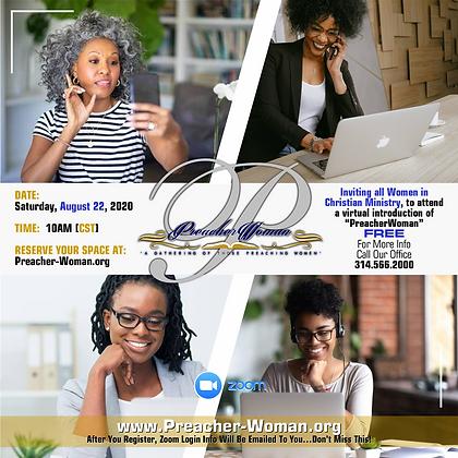 Virtual Introduction to PreacherWoman - FREE