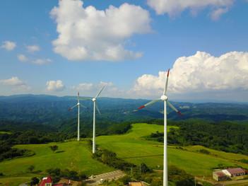 稲葉山 風車