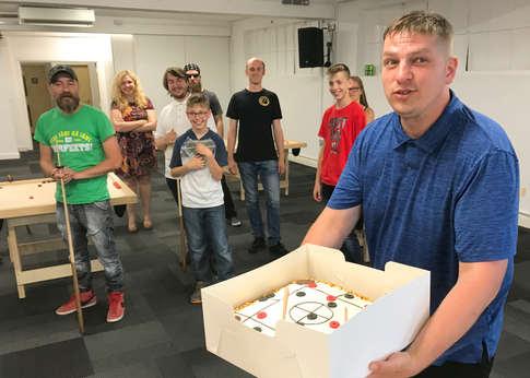 Kluba prezidenta Linarda Lībieša dzimšanas dienas torte (jūnijs/2019)