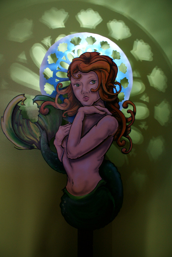 Nouveau Mermaid with Lights