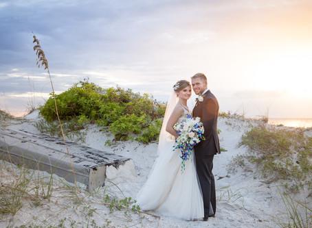 Becky and Daniels Beach Wedding