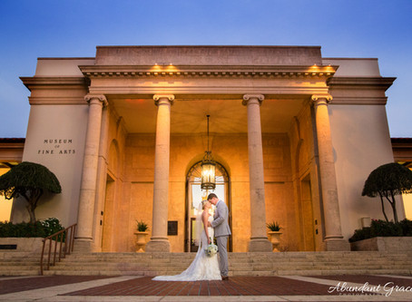 A Fine Arts wedding for an amazing couple!