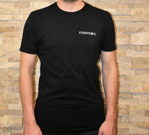 FITANYSOUL Jet Black Muscle Tee