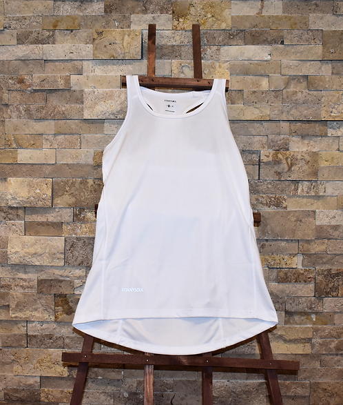 FIT-SENSE White Tank Top