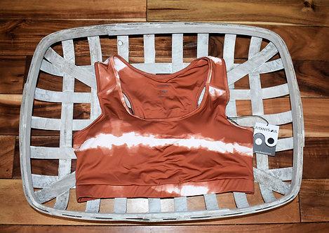 Burnt Orange Sport Bra
