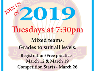2019 Senior Winter Competition