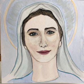 Watercolor-Mary