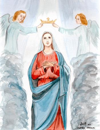 Coronation of the Lady