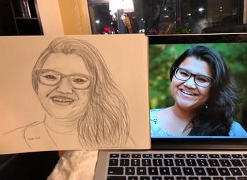 Sketching friends