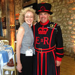 With Yeoman Warders