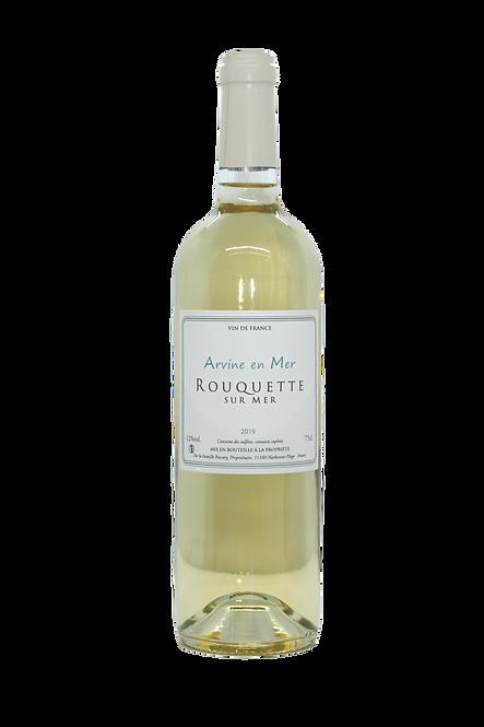 Cuvée Arvine en Mer, Château Rouquette sur Mer, 2019, Vin de France