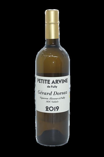 Petite Arvine de Fully, Gérard Dorsaz, 2019, AOC Valais