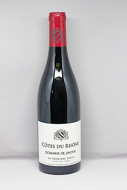 Côtes du Rhône, Domaine de Javonne, Première Pente BIO, 2018, Côtes du Rhône AOP