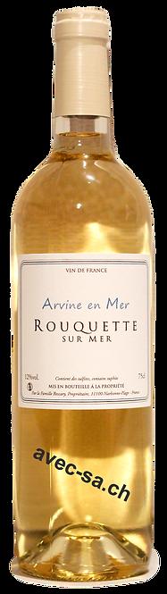 Cuvée Arvine en Mer, Château Rouquette sur Mer, 2018, Vin de France