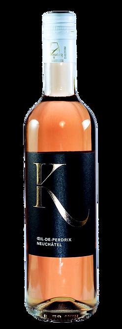 Œil de Perdrix, Vins Keller, 2019, 50cl, AOC Neuchâtel