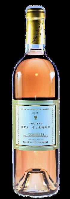 Château Bel Evêque - Rosé élevé en fût de chêne - AOC Corbières