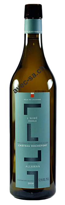 L'Aimé, Château de Rochefort, 2020, AOC La Côte, Allaman Grand Cru