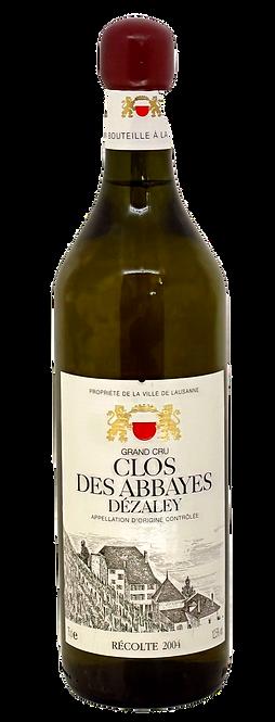 Clos des Abbayes, 2004, Appellation Dézaley Grand Cru Contrôlée