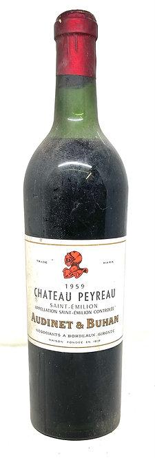 Château Peyreau, 1959, Appellation Saint-Emilion contrôlée