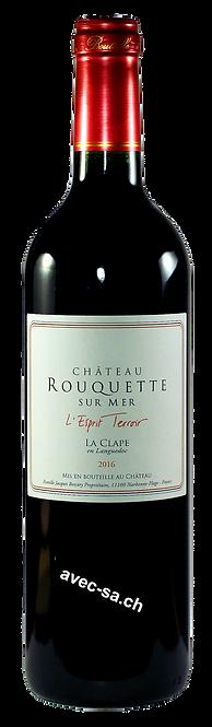 L'Esprit Terroir, Château Rouquette sur Mer, 2018, AOC La Clape