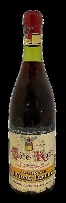 Côtes Brune & Blonde, J. Vidal Fleury,  SM, Appellation Côte-Rôtie contrôlée