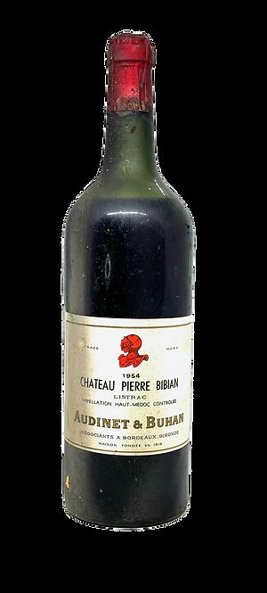 Château Pierre Bibian, 1954, Appellation Listrac contrôlée