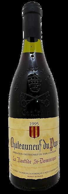 La Bastide St-Dominique, 1995, 75 cl, AOC Châteauneuf-du-Pap