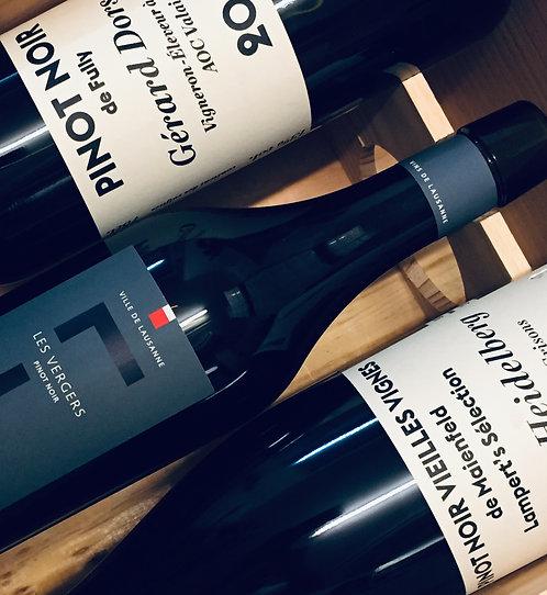 Coffret Suisse 100% Pinot Noir, Découverte d'un cépage en 6 cantons